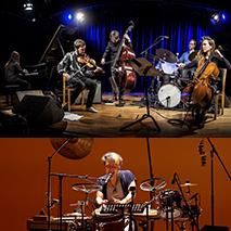 田中鮎美(piano)・レオ・スヴェンソン・ サンダー(cello)・ホーコン・オーセ(violin) オーレ・モルテン・ヴォーガン(bass)・トーマス・ストレーネン(drums) <ゲスト> 佐藤正治(percussion)