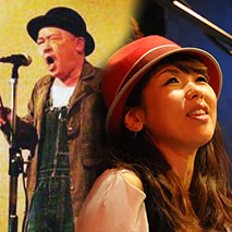 ナオユキ(stand-up comedian) x 和田八美(piano&vocal)
